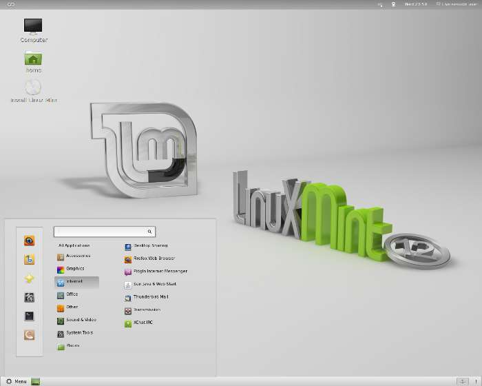 Linux Mint (GNOME Shell)